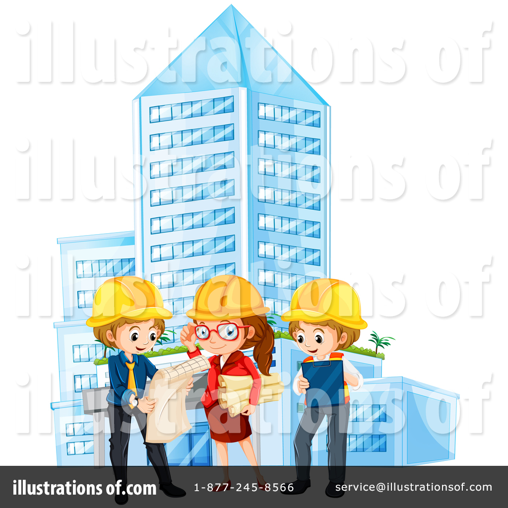 Illustration by graphics rf. Architect clipart boy