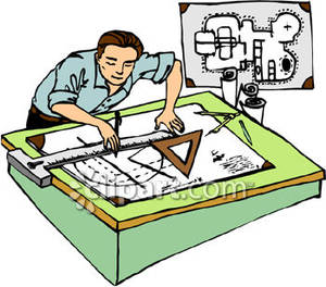 Jobs flashcards by proprofs. Architect clipart caricature
