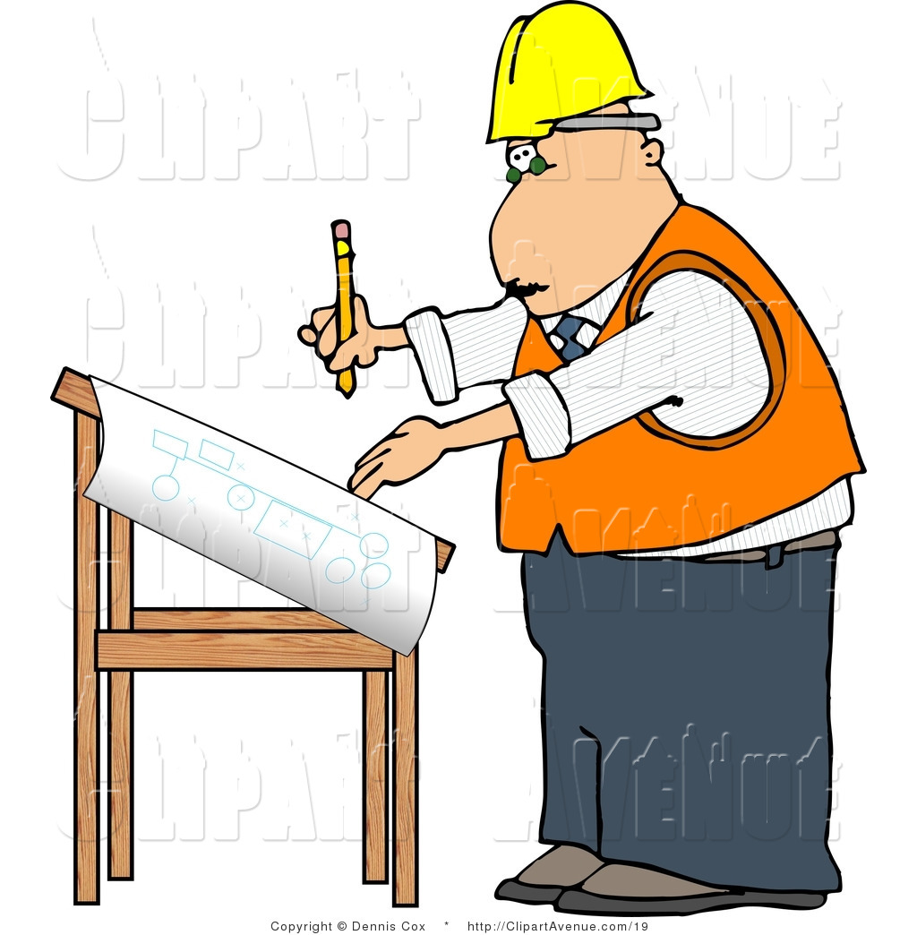 Architect clip art free. Careers clipart drawing