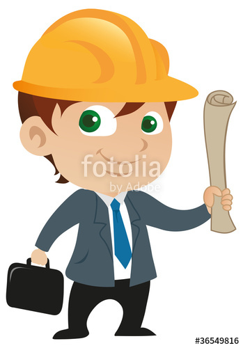Architect clipart cute. Male stock image and