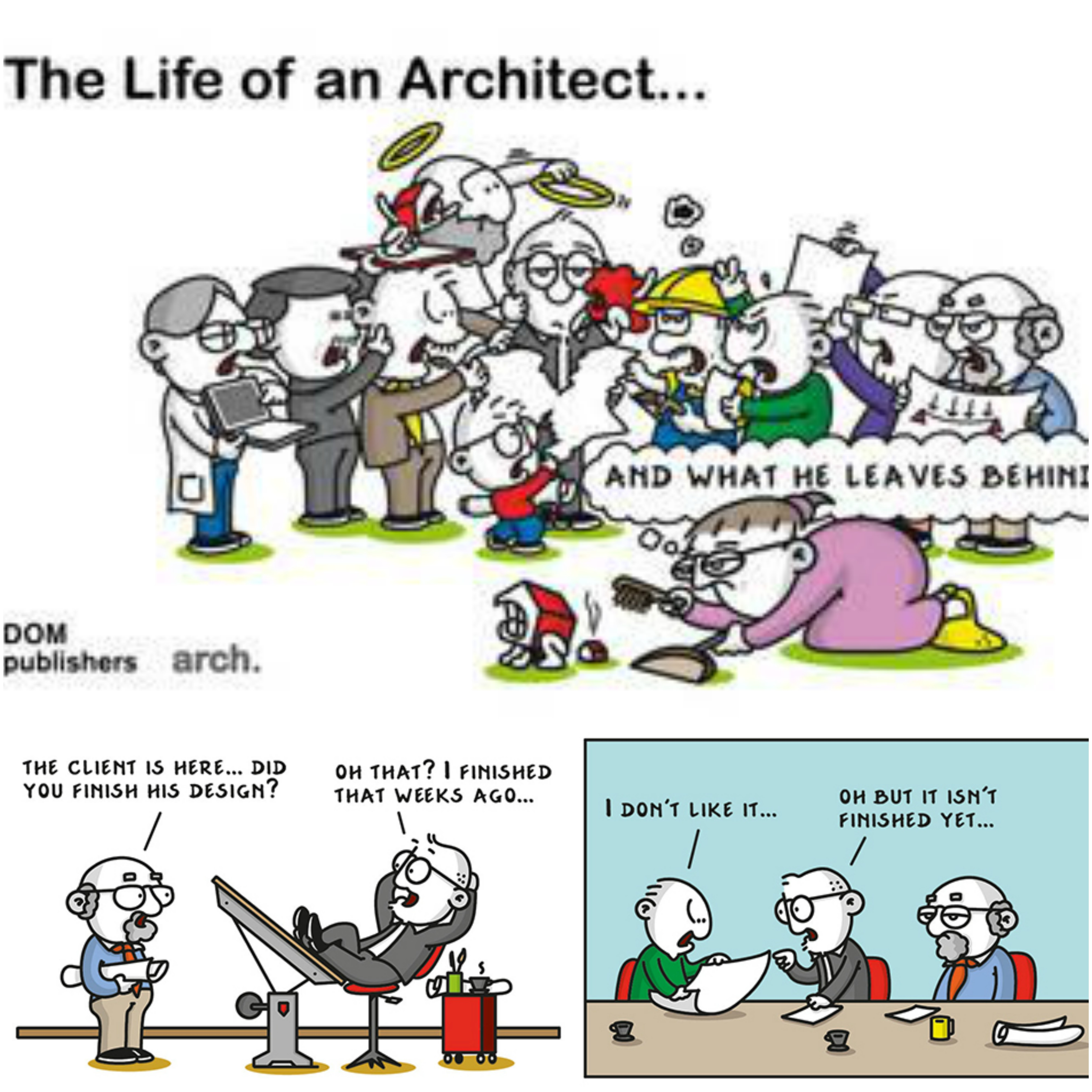 Architect clipart design technology.  must read graphic