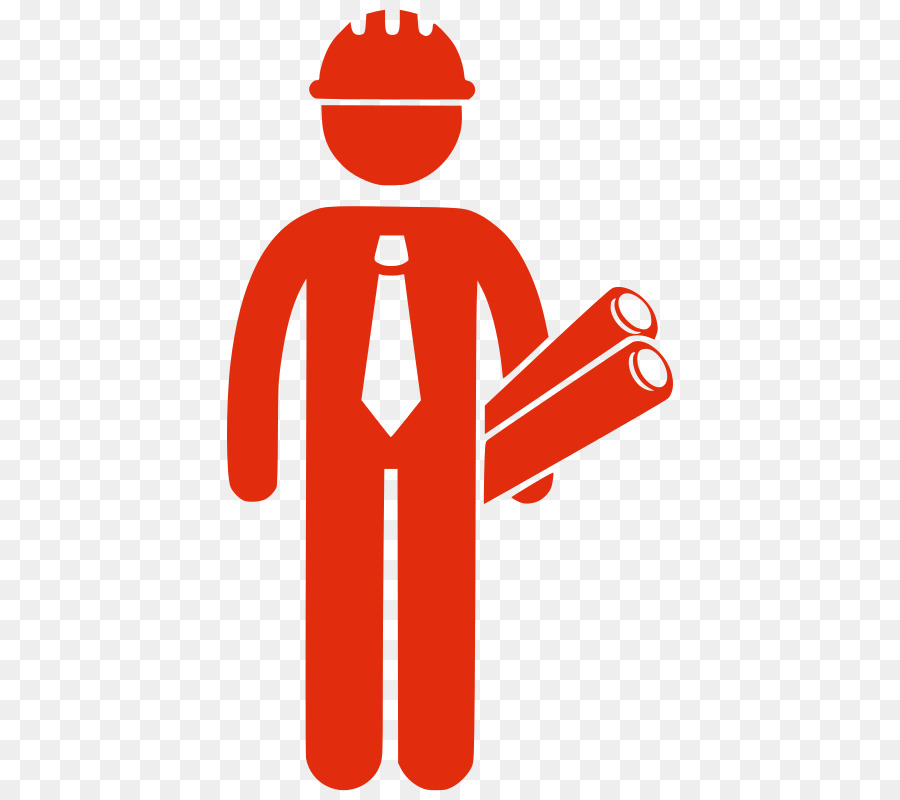 Architectural engineering silhouette construction. Architect clipart engineer