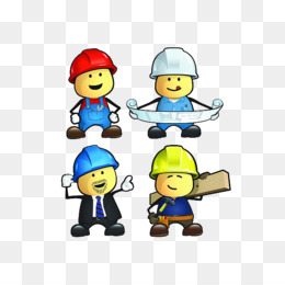 Civil png and psd. Architect clipart engineering team
