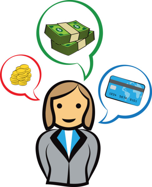 Business woman stock photo. Accountant clipart female accountant