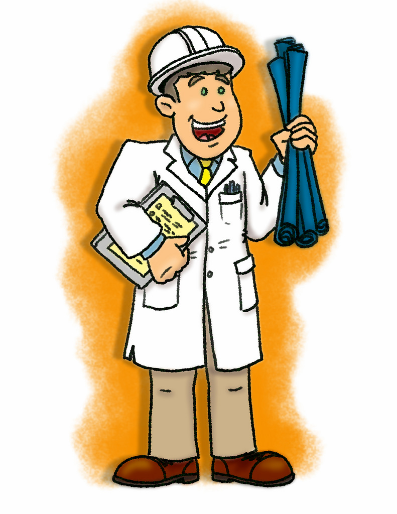 Tax deductions for engineers. Engineer clipart field engineer