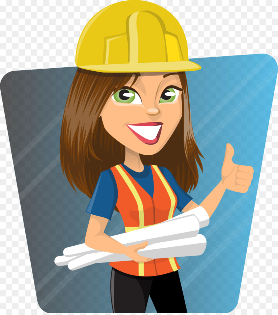 Engineering woman clip art. Lady clipart architect