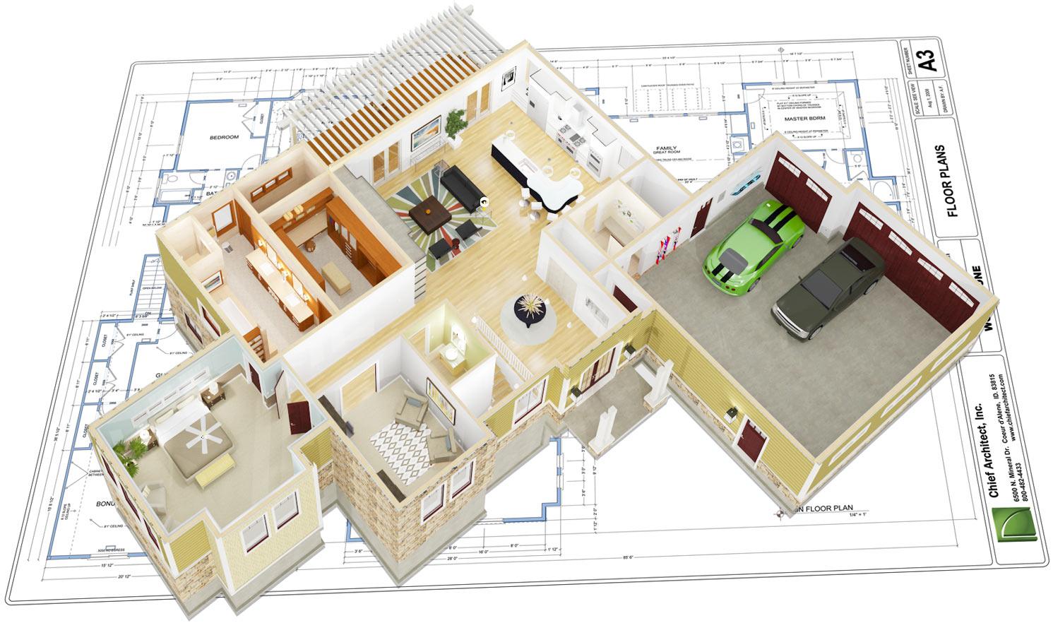 Chief software for professional. Architect clipart interior decorator