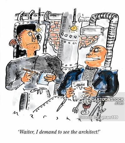 Architect clipart interior decorator. Restaurant design cartoons and