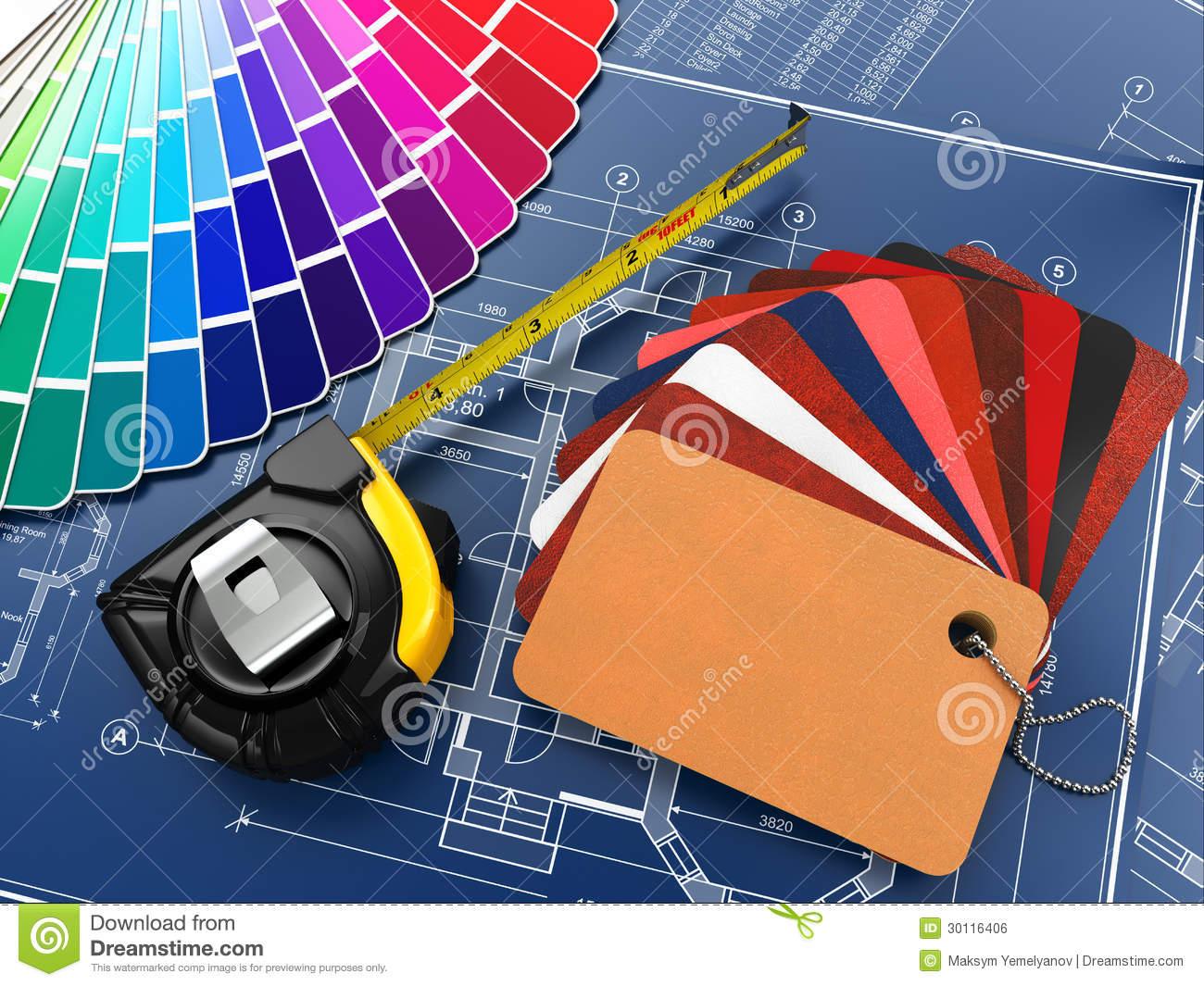 Tools designer unbelievable design. Architect clipart interior decorator
