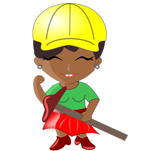 African cliparts of . Architect clipart lady