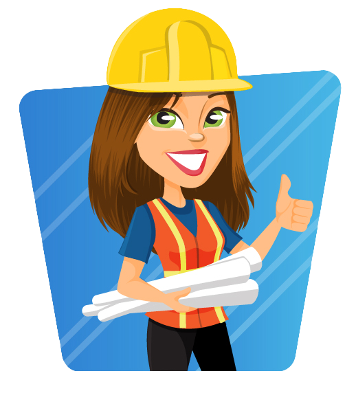 collection of engineer. Lady clipart architect