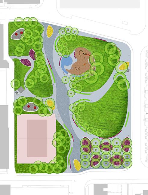 Joel weeks park janet. Architect clipart landscape architect