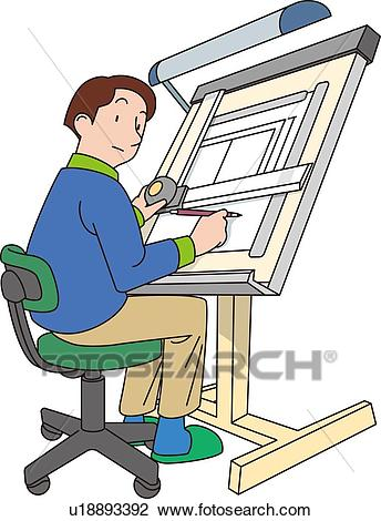 Man free pnglogocoloring pages. Architect clipart male architect
