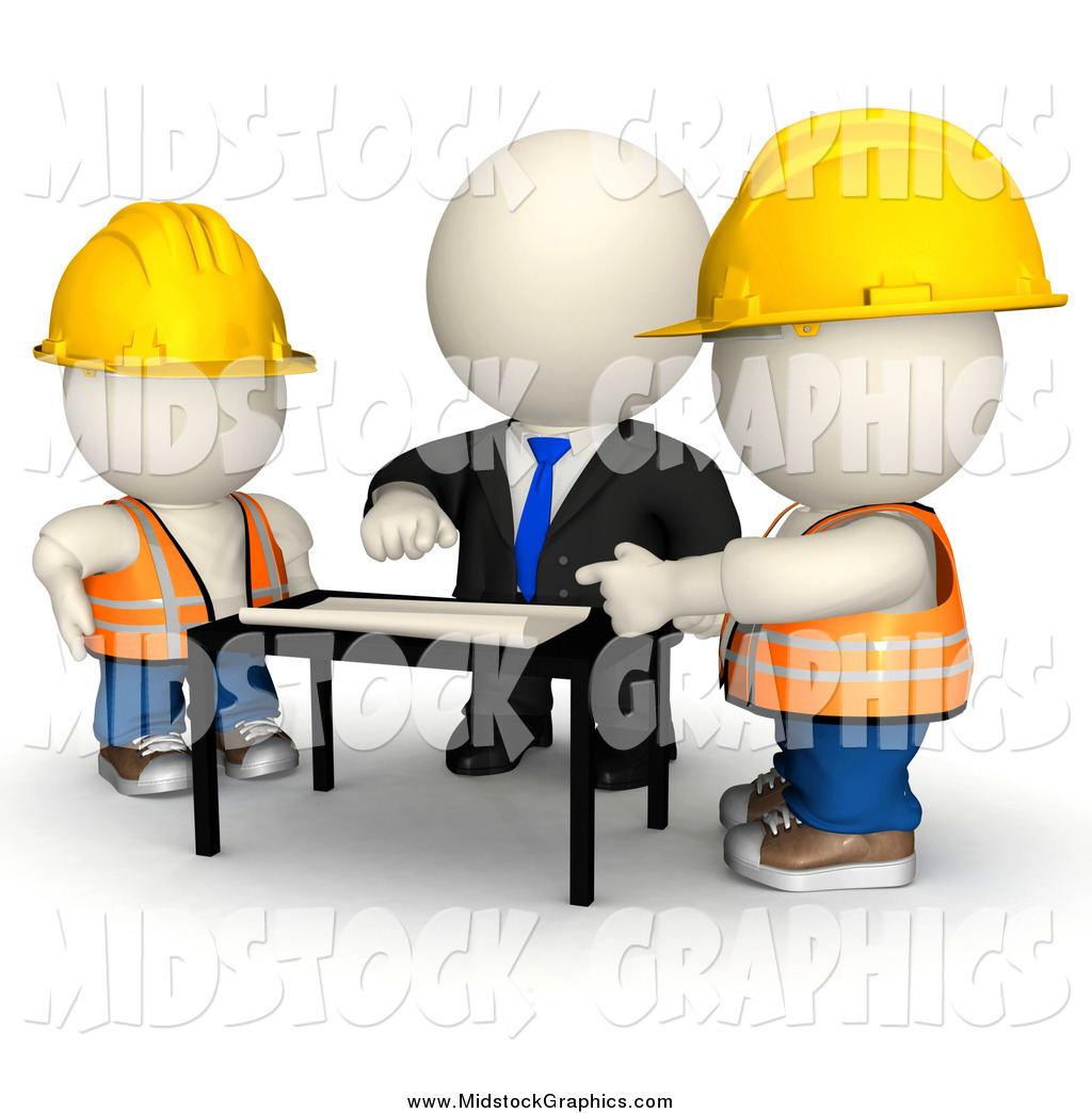 d collection of. Architect clipart man