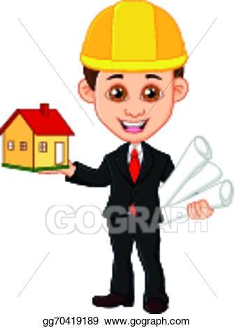 Architect clipart man. Vector stock men keeps