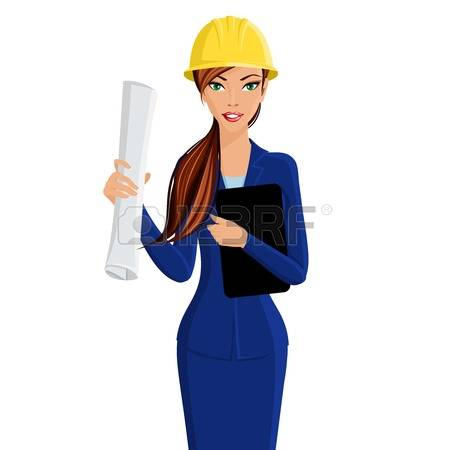 Architect clipart person.  collection of girl