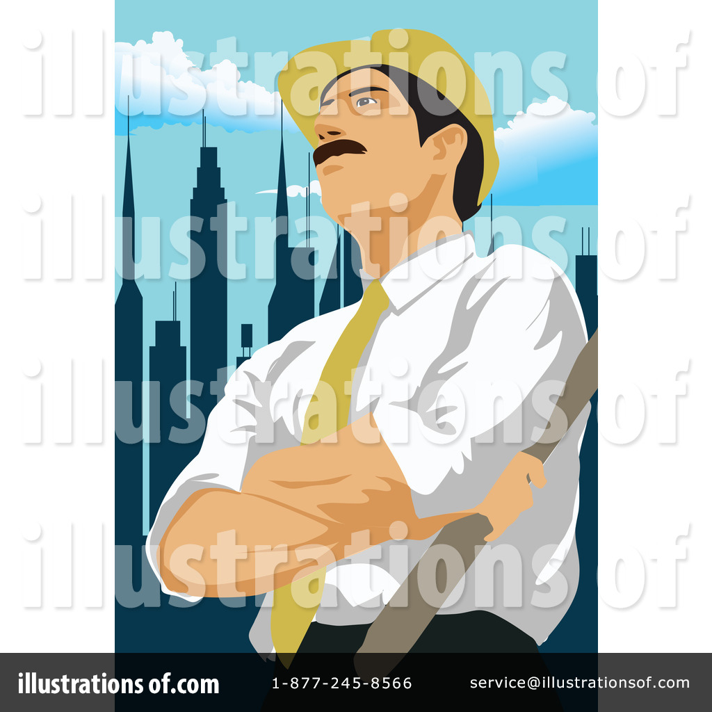 Architect clipart person. Illustration by mayawizard royaltyfree