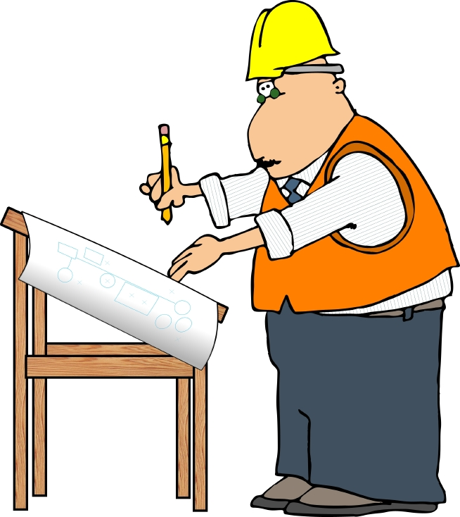 Architect clipart site manager. Free pictures download clip