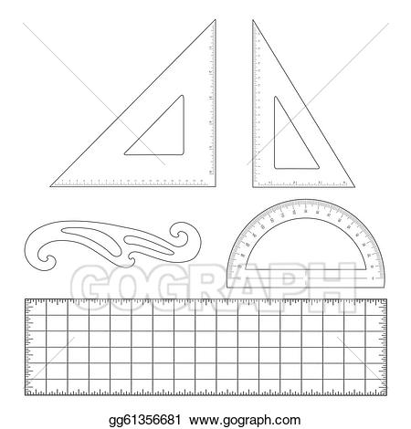 Architect clipart technical drafting. Eps illustration tools vector