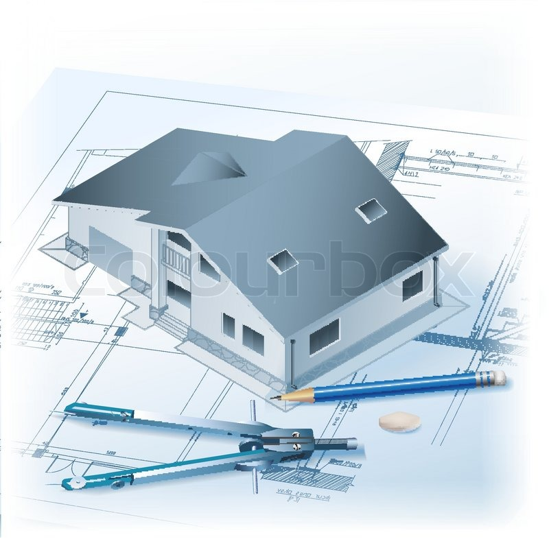 Architect clipart technical drawing, Architect technical