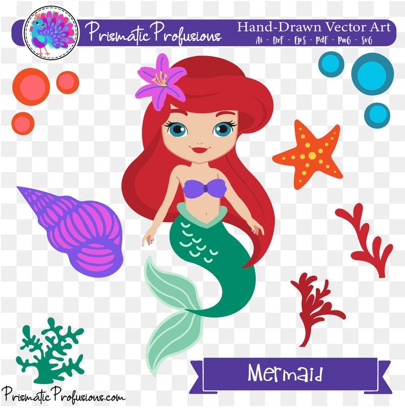 Svg clip art party. Ariel clipart ariel birthday