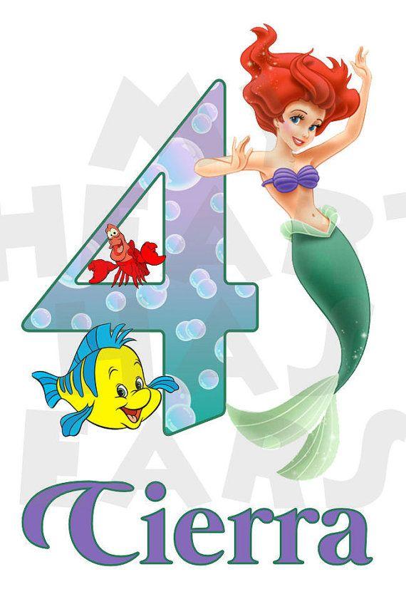 Ariel clipart ariel birthday. The little mermaid printable