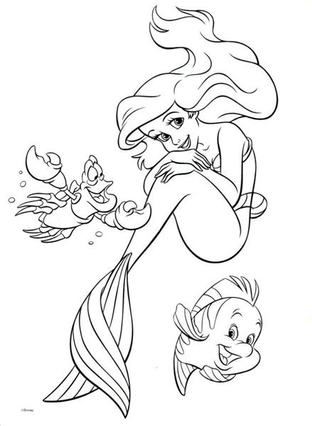 Ariel Clipart Black And White Ariel Black And White Transparent