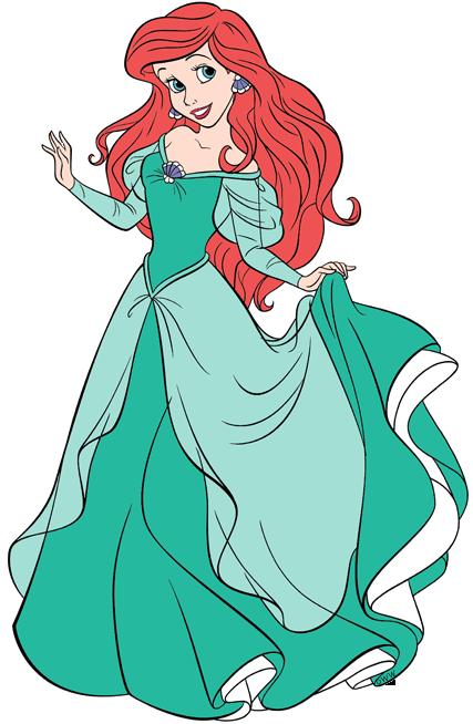 Ariel clipart character. Human clip art disney
