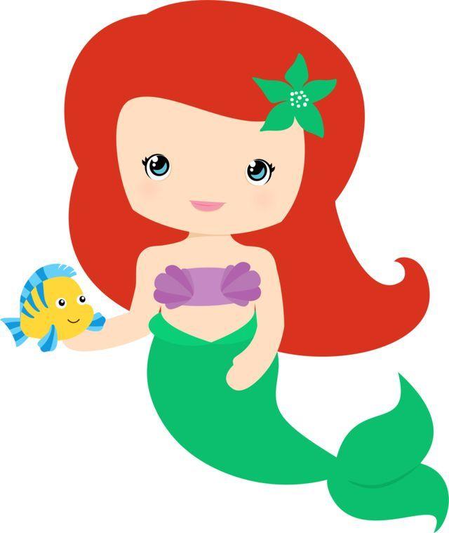 Ariel clipart cute. Pin by ilene pabon