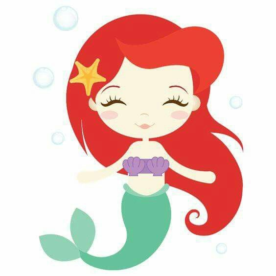 Pin by karla gomez. Ariel clipart cute
