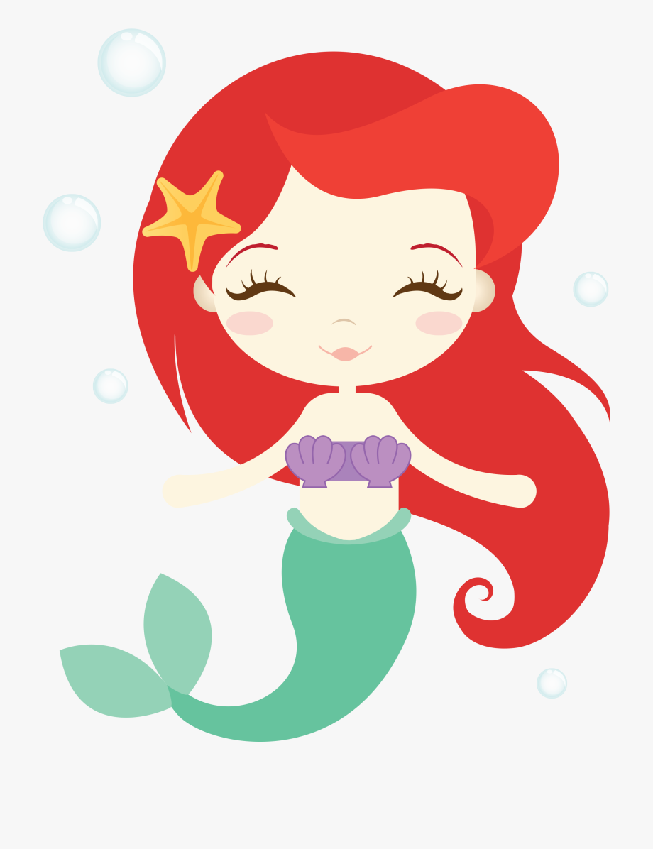 Image result for birthday. Ariel clipart cute