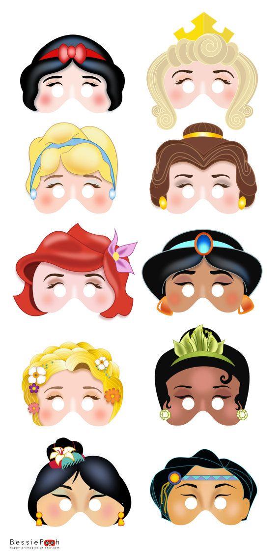 Printable disney princess masks. Ariel clipart face ariel