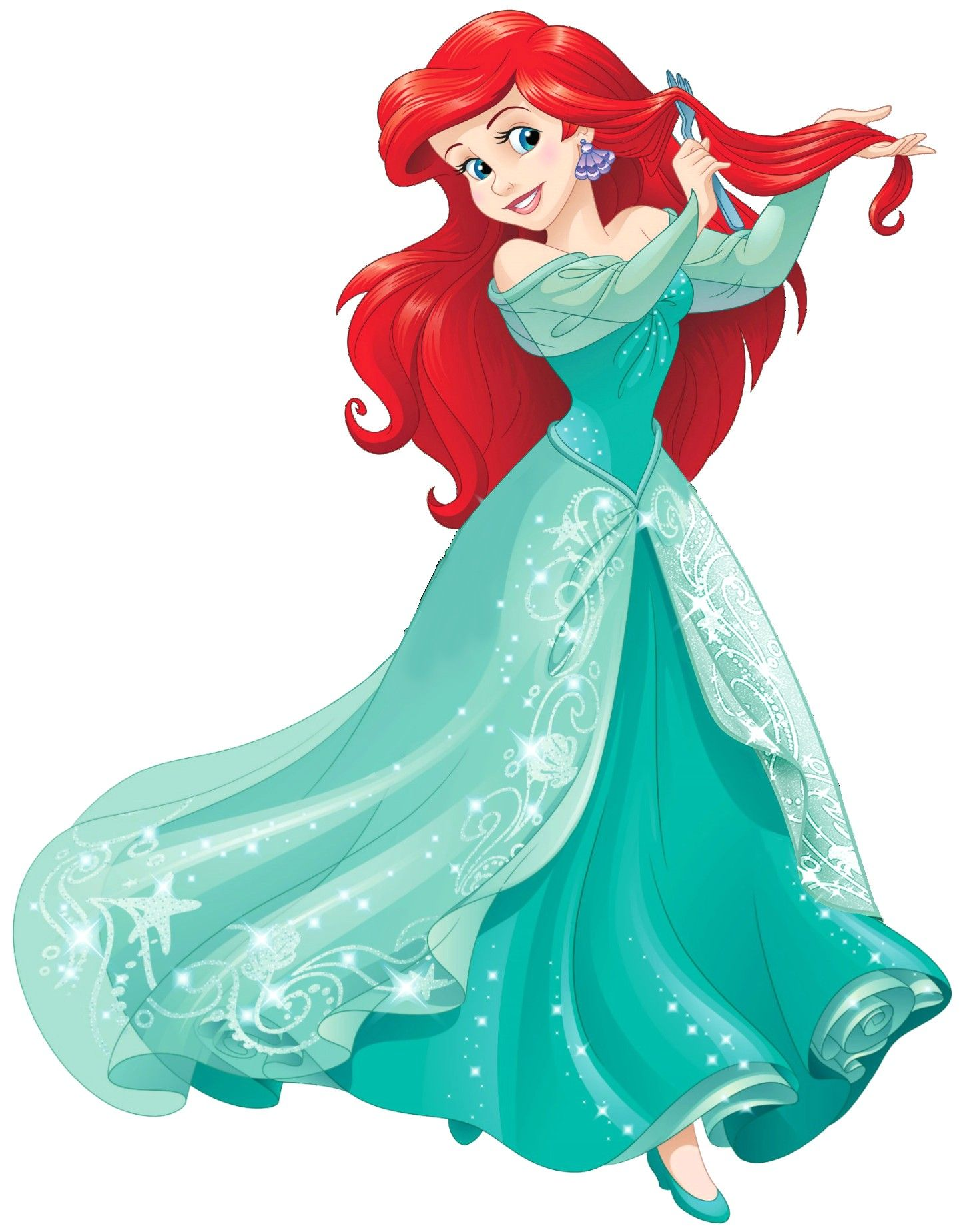Ariel clipart real life. Disney little mermaid princess