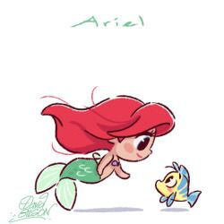 Ariel clipart sketch. The art of david