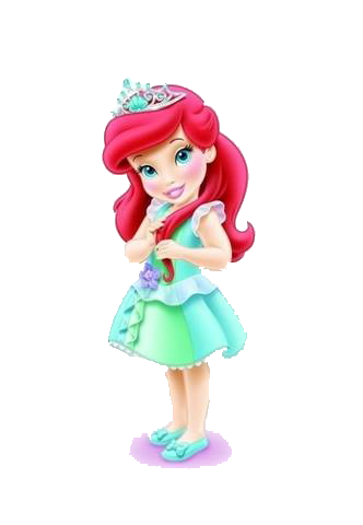 Pin by sharon vargas. Ariel clipart toddler