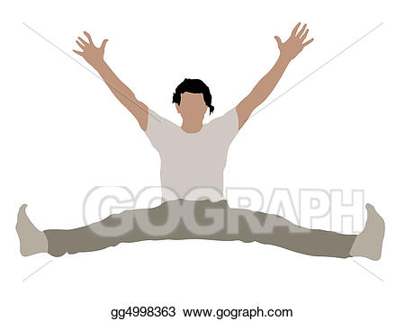 Drawing young male with. Arms clipart arm leg