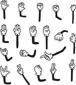 arms clipart cartoon