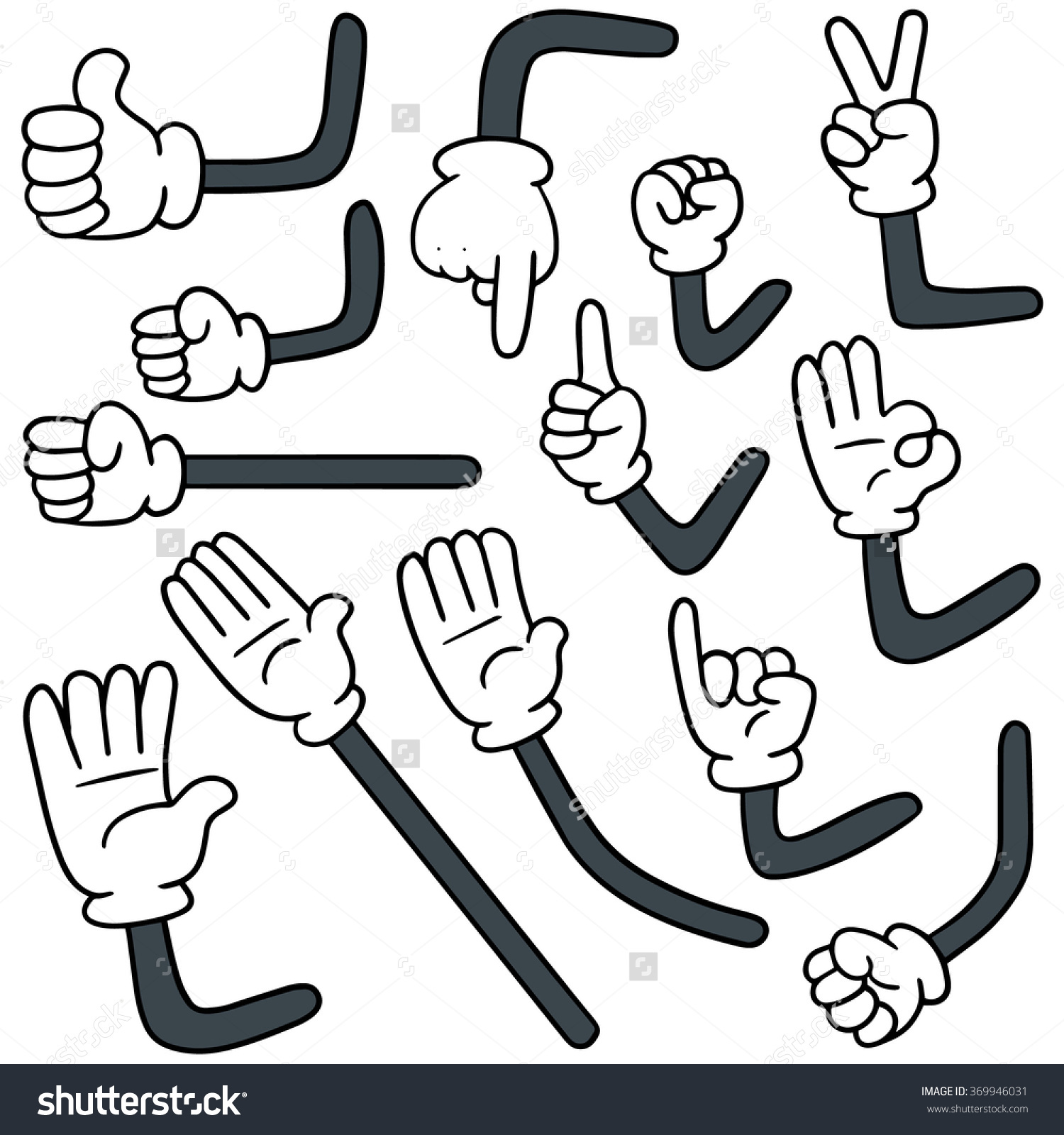 collection of drawing. Arm clipart cartoon