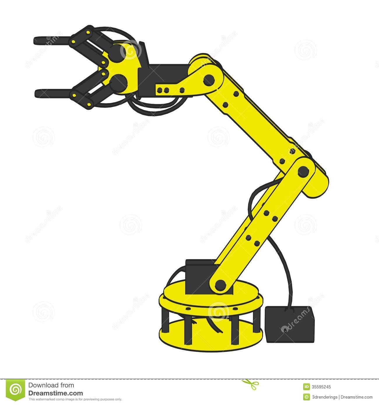 Robot clipground robotic. Arm clipart cartoon