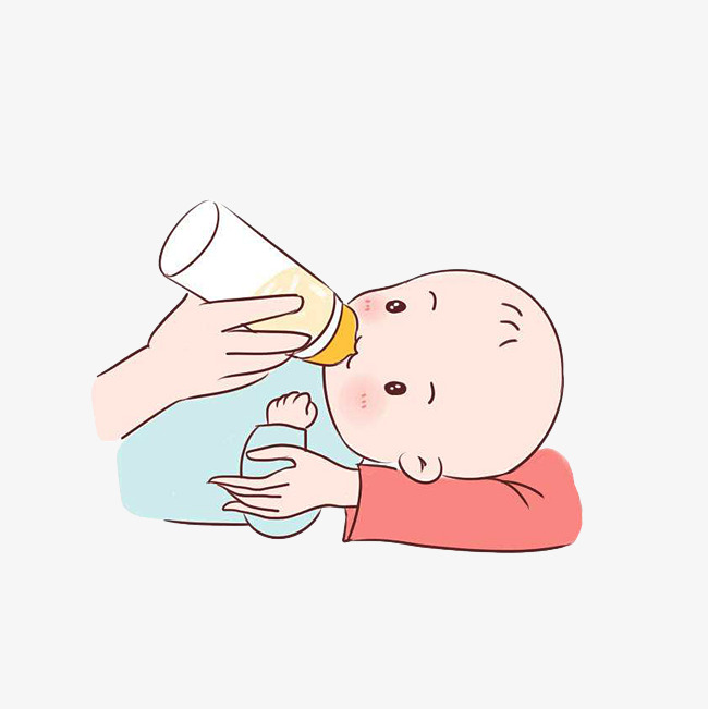 Milk in her baby. Arms clipart drawing