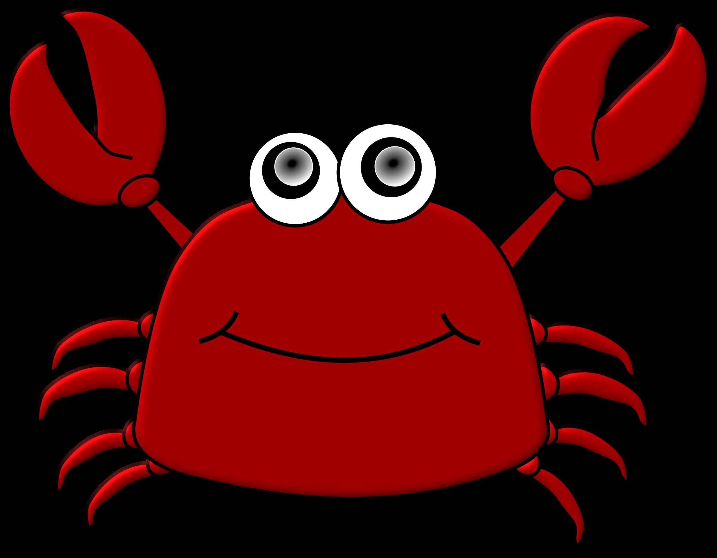Crabs clipart description. Cartoon crab big image