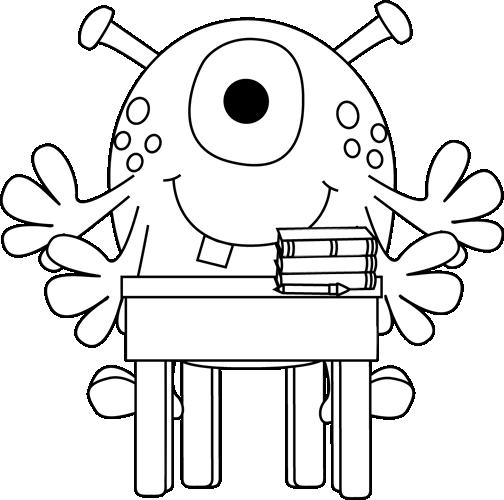Monster clip art images. Arm clipart cute