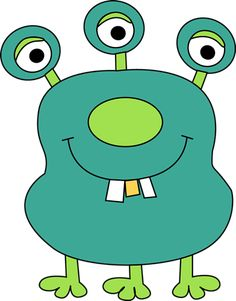 Monster for kids four. Arm clipart cute
