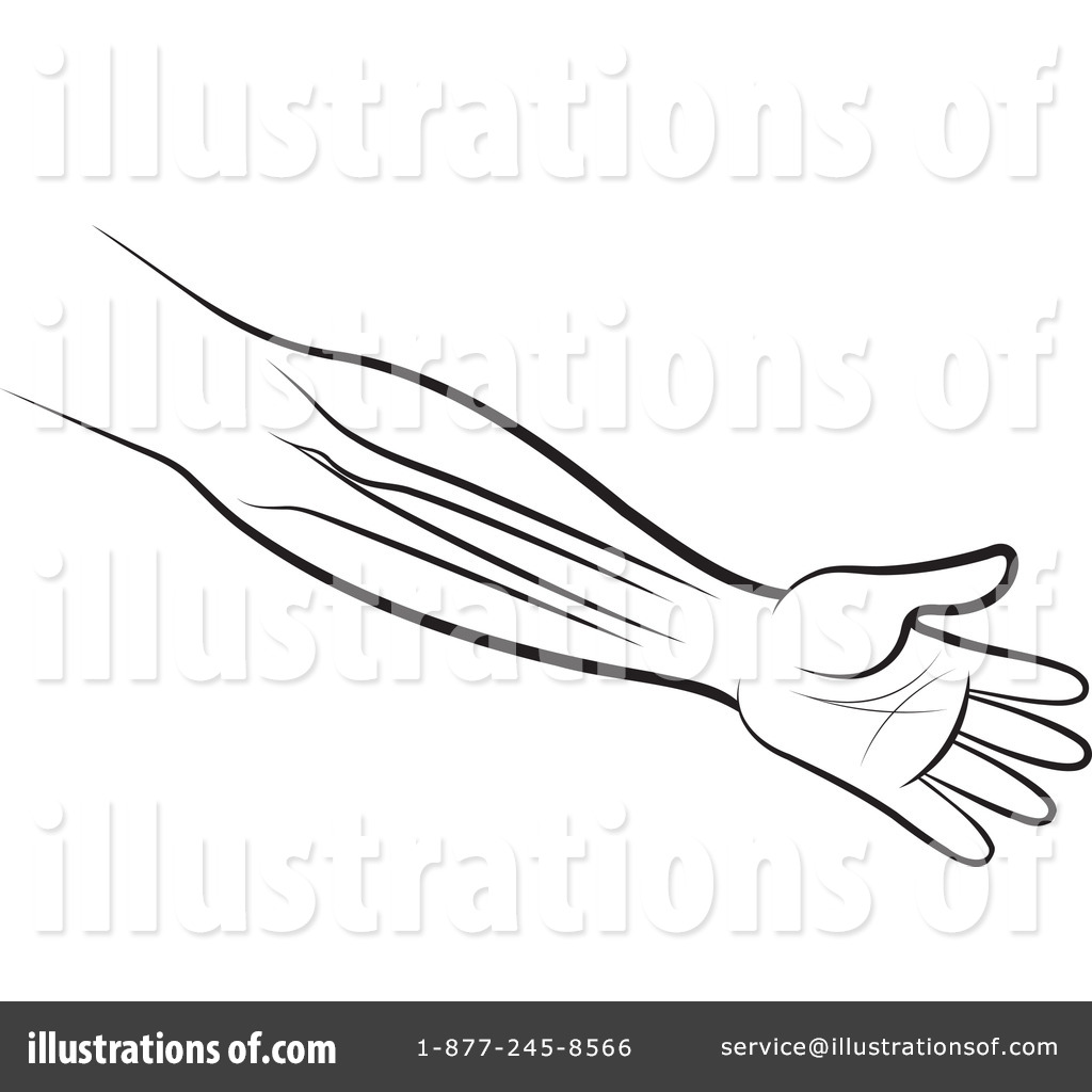 Arms clipart drawing. Royalty free rf arm