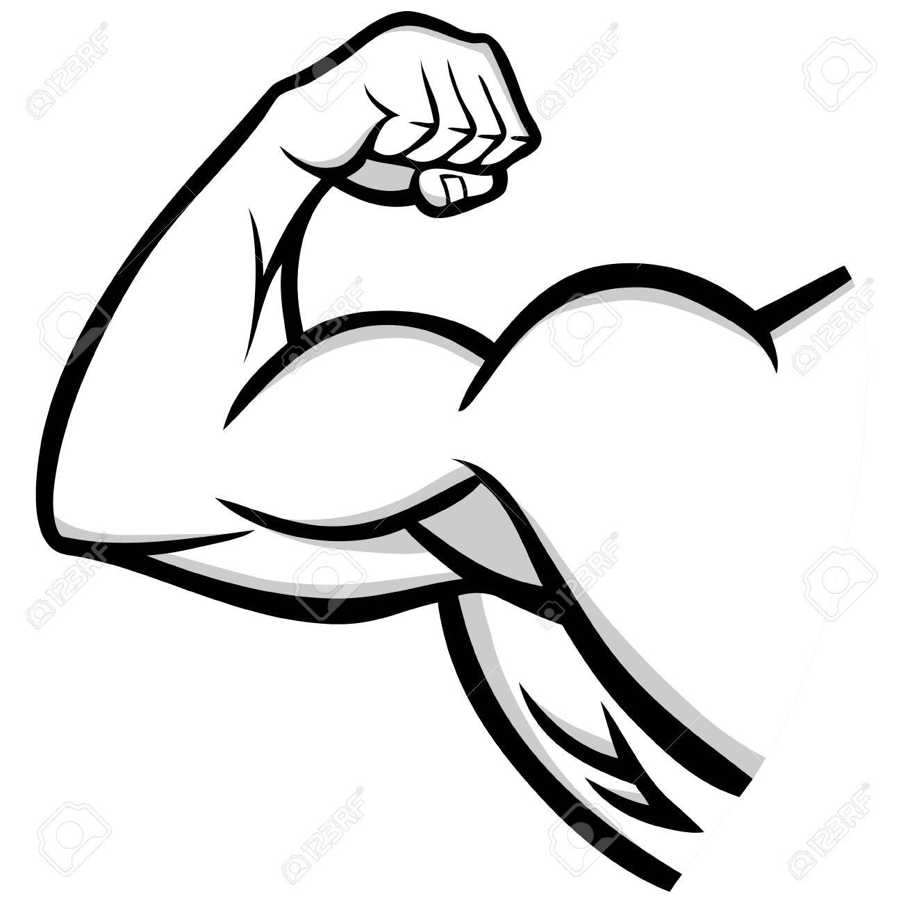 Strong arm drawing at. Arms clipart cartoon