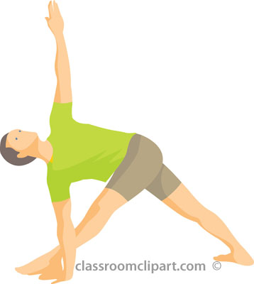 Physical fitness exercise arms. Exercising clipart physically