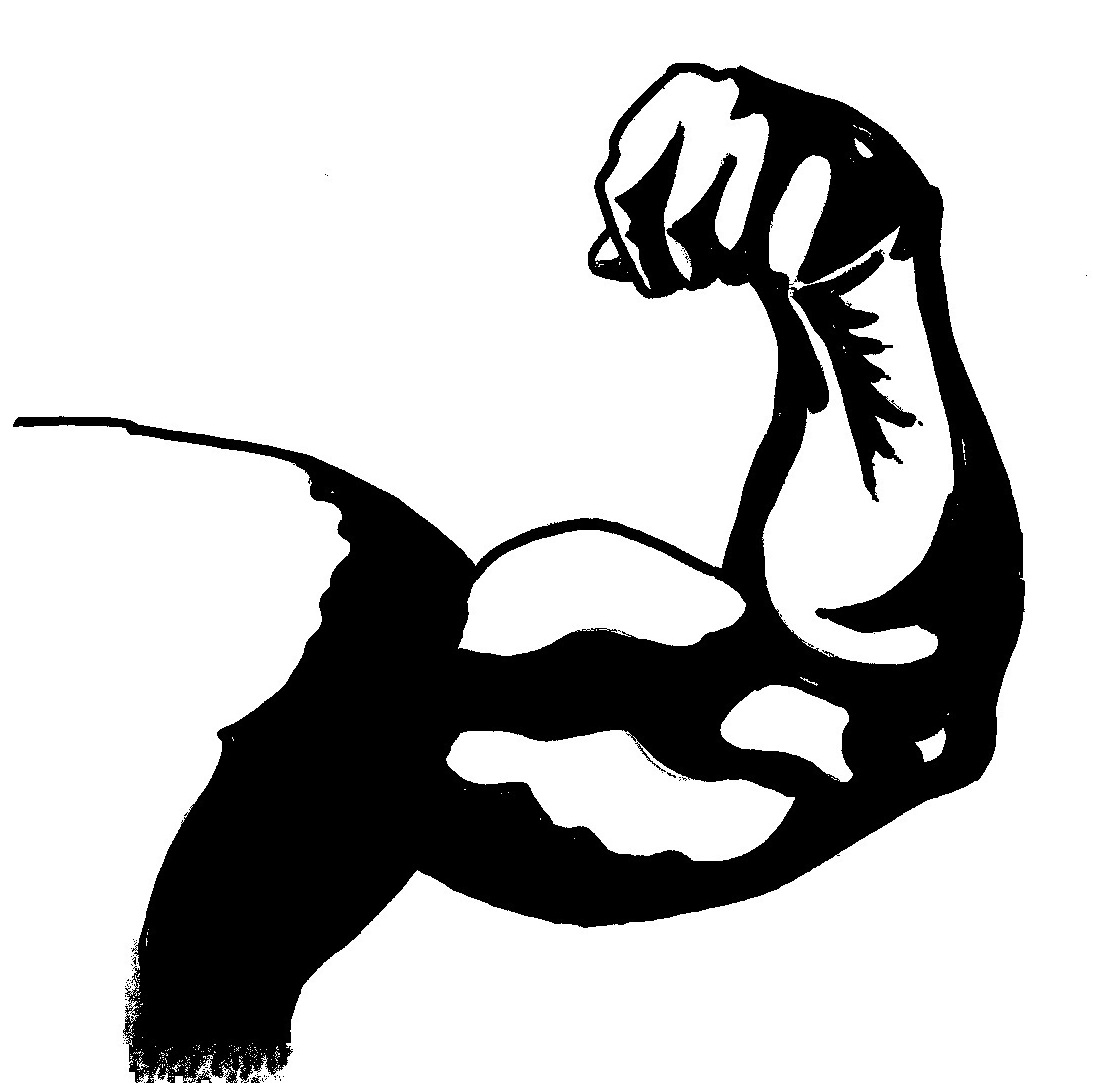 Arms clipart fitness. Your ticket to the