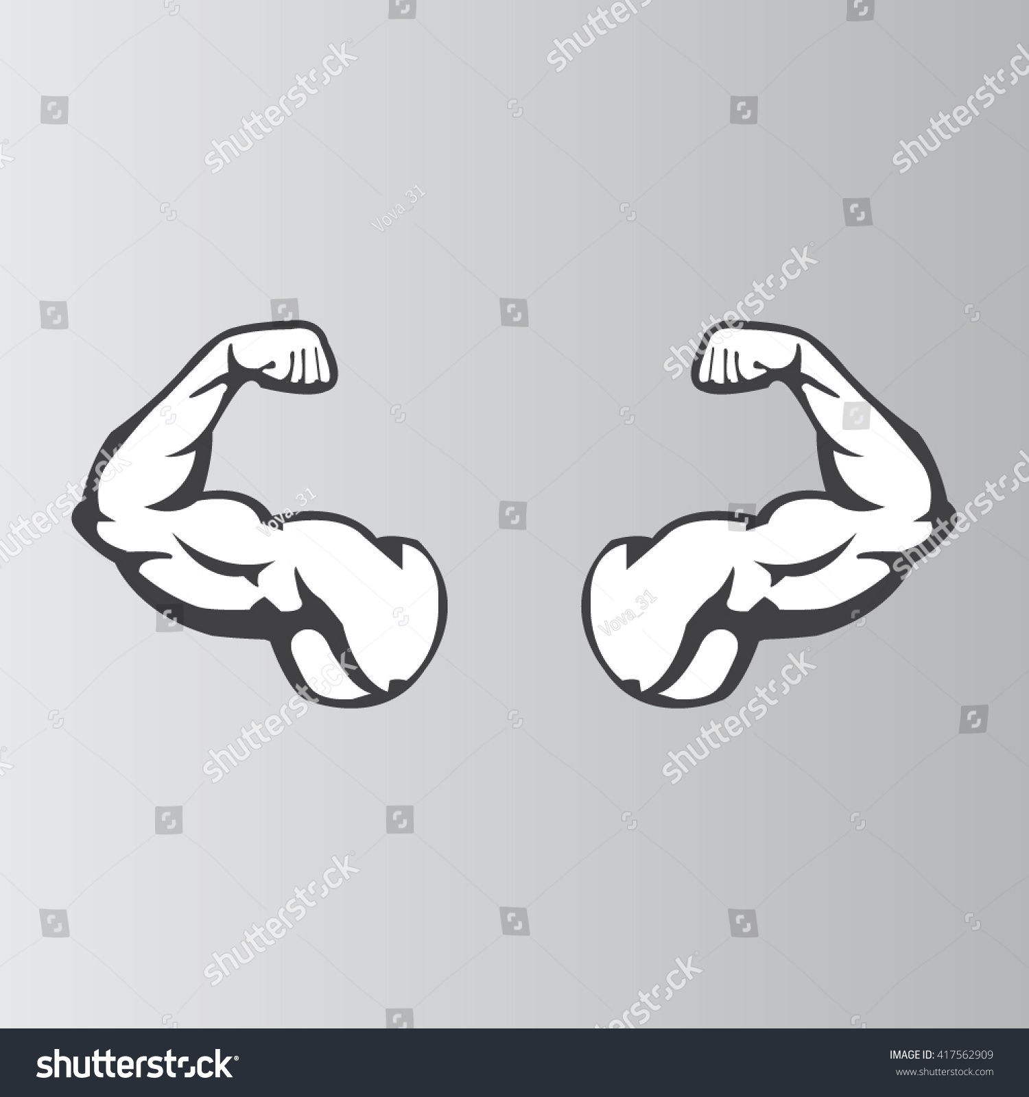 Arms clipart flexed arm. Free flex icon download