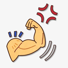 Muscle power png image. Bra clipart arm hand