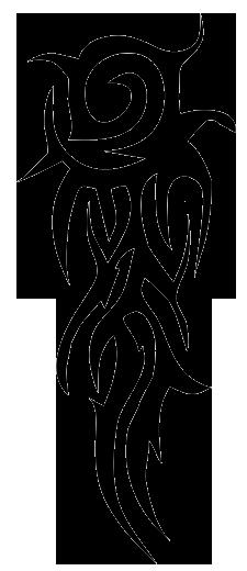 Arms clipart forearm. Tribal arm tattoos god